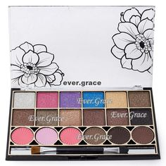 Ever.Grace Nude Smokey Eye Shadow Blush Palette 18 Colors