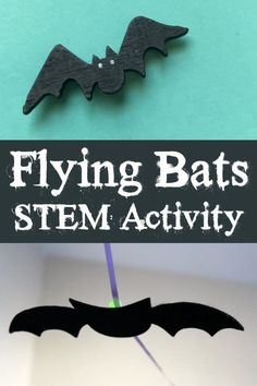 Flying Bats STEM Activity for Preschoolers (from The Educators' Spin On It)