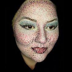 pointillism makeup - Google-haku