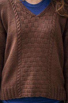 Corfu Pullover - Knitting Patterns and Crochet Patterns from KnitPicks.com