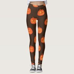 Shop Cute Halloween leggings created by Manitoba_Haunted. Personalize it with photos & text or purchase as is! Cute Leggings, Tight Leggings, Halloween Leggings, Ghost Hunting, Cute Pumpkin, Cute Halloween, Leggings Fashion, Dressmaking, Things That Bounce