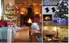 Seminee impodobite de Craciun Home Decor, Decoration Home, Room Decor, Home Interior Design, Home Decoration, Interior Design