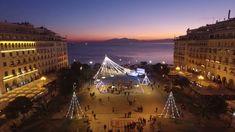 Thessaloniki, Winter Holidays, Paris Skyline, Louvre, Building, Travel, Viajes, Buildings, Destinations