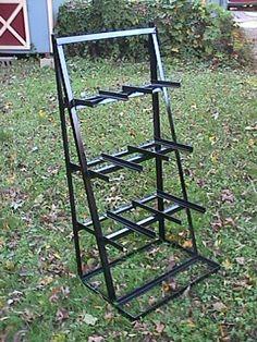 need a stock rack for long stock. I love this rolling rack with . Welding Cart, Welding Shop, Diy Welding, Metal Welding, Welding Projects, Steel Storage Rack, Steel Racks, Metal Rack, Metal Shop