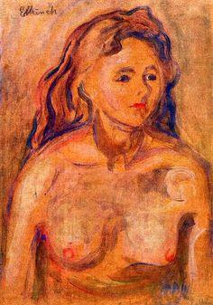 Nude Edvard Munch - 1898