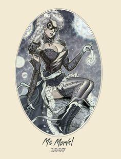 Mrs. Marvel by Michael Dooney