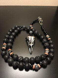 Phantom Queen: Prayer Beads for The Morrigan by FireFoxAlchemy