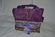 Altered bag for knitting