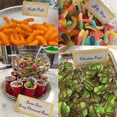 Harry Potter party- food details