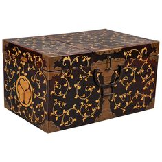 Japanese Garment Trunk | From a unique collection of antique and modern lacquer at http://www.1stdibs.com/furniture/asian-art-furniture/lacquer/