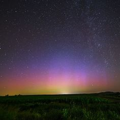 Papers.co wallpapers - nq43-night-sky-star-color-aurora-nature - http://papers.co/nq43-night-sky-star-color-aurora-nature/ - sky