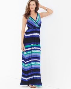 c581cd554163 Celebrate mom in a brunch-ready maxi dress with just-right stripes. Soma