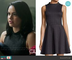 Veronica Lodge Fashion on Riverdale Veronica Lodge Outfits, Veronica Lodge Fashion, Fashion Tv, Autumn Fashion, Riverdale Veronica, Camilla Mendes, Riverdale Fashion, Different Dresses, Fit Flare Dress