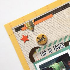 Paper Issues: give me s'more with PaperPOPs - like this embellishment topper, stitching Simple Stories, Embellishments, Stitching, Give It To Me, Paper, Fun, Costura, Ornaments, Stitch