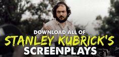 Stanley Kubrick Screenplays, STANLEY KUBRICK, indie film, filmmaking, indie film hustle, Clockwork Orange, Full Metal Jacket, Eyes Wide Shut, Lolita, The Killing, The Shinning