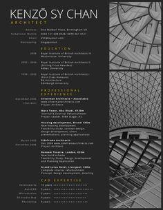 Professional Architect Resume - Canva
