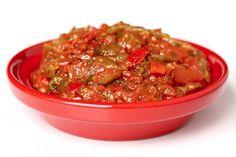 Ons recept van de dag: Taktouka salade . Op Bladna.nl kan je uiteraard nog veel meer leuke Marokkaanse recepten vinden.