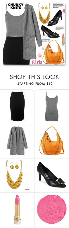 """""""CHUNKY KNITS"""" by ucetmal-1 ❤ liked on Polyvore featuring Alexander McQueen, WearAll, Palm Beach Jewelry, Salvatore Ferragamo, Givenchy and chunkyknits"""
