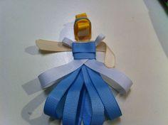Ribbon Princess Hair Clips - Entirely Smitten