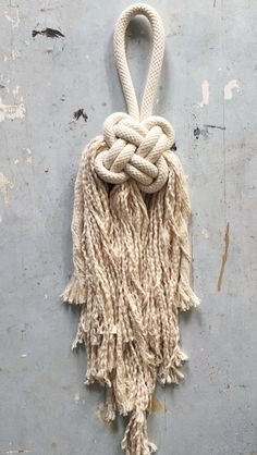 Good luck knot - Shop Sara Clark. Modern macrame