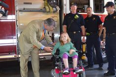 Lakehill Fourth Grader Helps Mayor Kick Off Fill the Boot Campaign