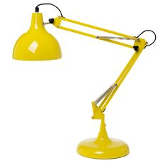 Skrivebordslampe gul Desk Lamp, Table Lamp, Cool Lamps, Science Projects, Cottage Style, My House, Cool Stuff, Random Stuff, Retro