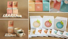 Leafy Tea by Belinda Shih, via Behance