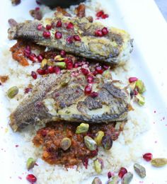 Jamie Oliver's 15 minute Meals - Moroccan Bream