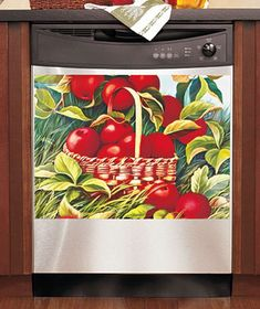 WANT! Will go w/ my apple kitchen theme and it's so cute http://www.ltdcommodities.com/Housewares-%2B-Dining/Tools%2B%252B%2BGadgets/Dishwasher-Magnetic-Art/prod680351.jmp?navAction=jump=search