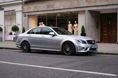 Sheer power in London. Mercedes Benz C63 Amg, Bmw, London, London England