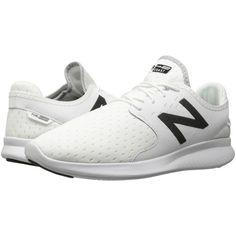 New Balance Coast v3 (White/Black) Men's Running Shoes (2.970 RUB) ❤ liked on Polyvore featuring men's fashion, men's shoes, men's athletic shoes, new balance mens shoes, mens white and black dress shoes, mens breathable shoes, mens slip on athletic shoes and mens lightweight running shoes