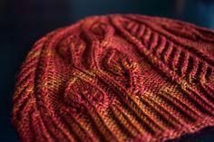 The Renae Hat $4 | Fingering weight http://www.deeprootsknits.com #knithat #knittingpattern #hatpattern