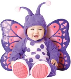 Baby Itty Bitty Butterfly Costume - Party City Halloween 2014 for Addy