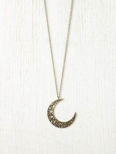 Free People Moon Crescent Necklace Style #: 26648501 Perfect for my boho accessory collection. Yes its 38.00 but do you really want to cheap out on good accessories?