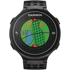 GARMIN 010-01195-01 Approach(R) S6 Golf GPS Watch (Dark)