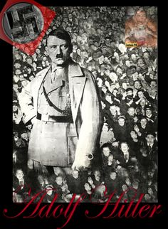 Adolf Hitler cheered by his country. The Third Reich, Ss, History, Country, World, Pictures, Character, Historia, Rural Area