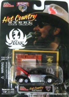 Racing Champions Hot Country Steel Diecast Hank Williams Issue #15 Bocephus by Racing Champions. $6.99. Scale:  1:64