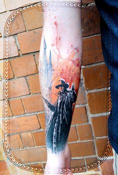 The detail Xoil put into this piece is remarkable. #InkedMagazine #novel #tattoo #tattoos #inked #ink