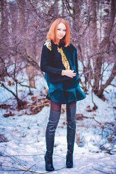 The amusing amature redhead thigh highs assured, that