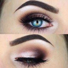 Glitter Makeup Ideas for Blue Eyes picture 2