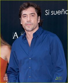 Denim Button Up, Button Up Shirts, Javier Bardem, Jeffrey Dean, A Good Man, Spanish, Handsome, Actors, Couples