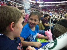 First Hockey Game