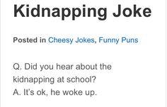 Hahaha.... Cheesy joke