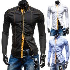 Camisa Social Slim Fit Arame Fashion