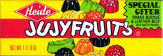 I cannot begin to guess how many Jujyfruits I've eaten in my lifetime.