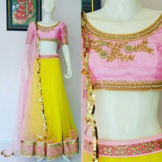 One of our top favorite combination for this Summer! Happy shopping :) Light the spark within you! Colour Combo, Color, Lengha Choli, Frocks, Happy Shopping, Boutique, Summer, Kids, Outfits
