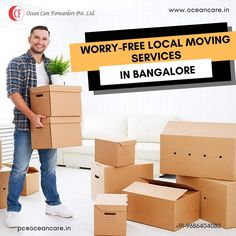 Ocean Care – renowned freight forwarders amongst international shipping and logistics companies for its cargo and logistic services. Free Move, Freight Forwarder, Relocation Services, Packers And Movers, Moving Services, Stress Free, 15 Years, No Worries, Safety