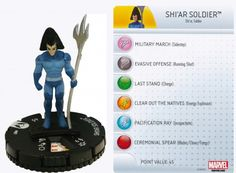 Shi'ar Soldier #007 Wolverine and the X-Men Marvel Heroclix
