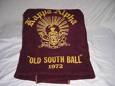 "Kappa Alpha Order ""Old South "" Blanket from 1972 Ka Ball | eBay"