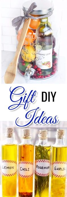 Easy and Unique DIY Gifts and Gift ideas to make